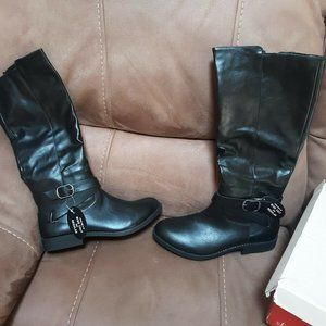 Style & CO 8.5M Madixe Black Boots-New